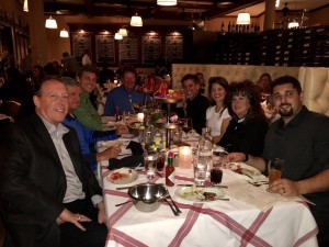 Team dinner with Turkey Creek Snacks